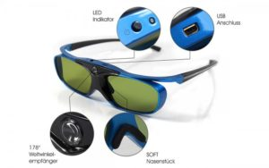 blue heaven dlp link 3d brille 2