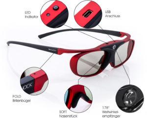scarlet heaven bluetooth 3d brille details